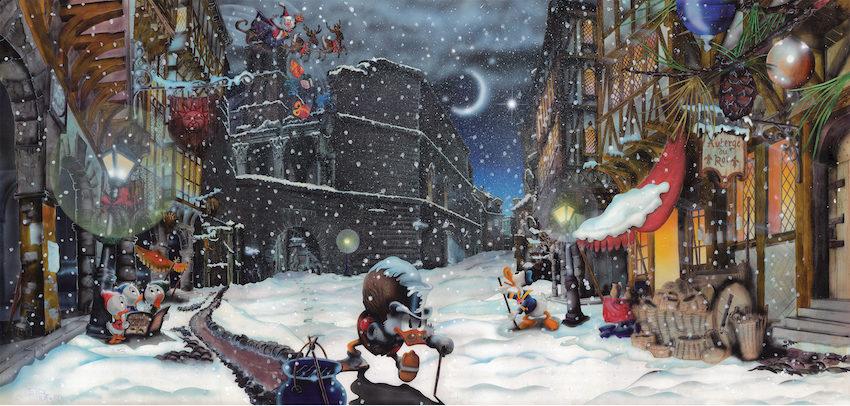 Andrea Felice. La settimana dell'arte contemporanea natalizia inFantacity